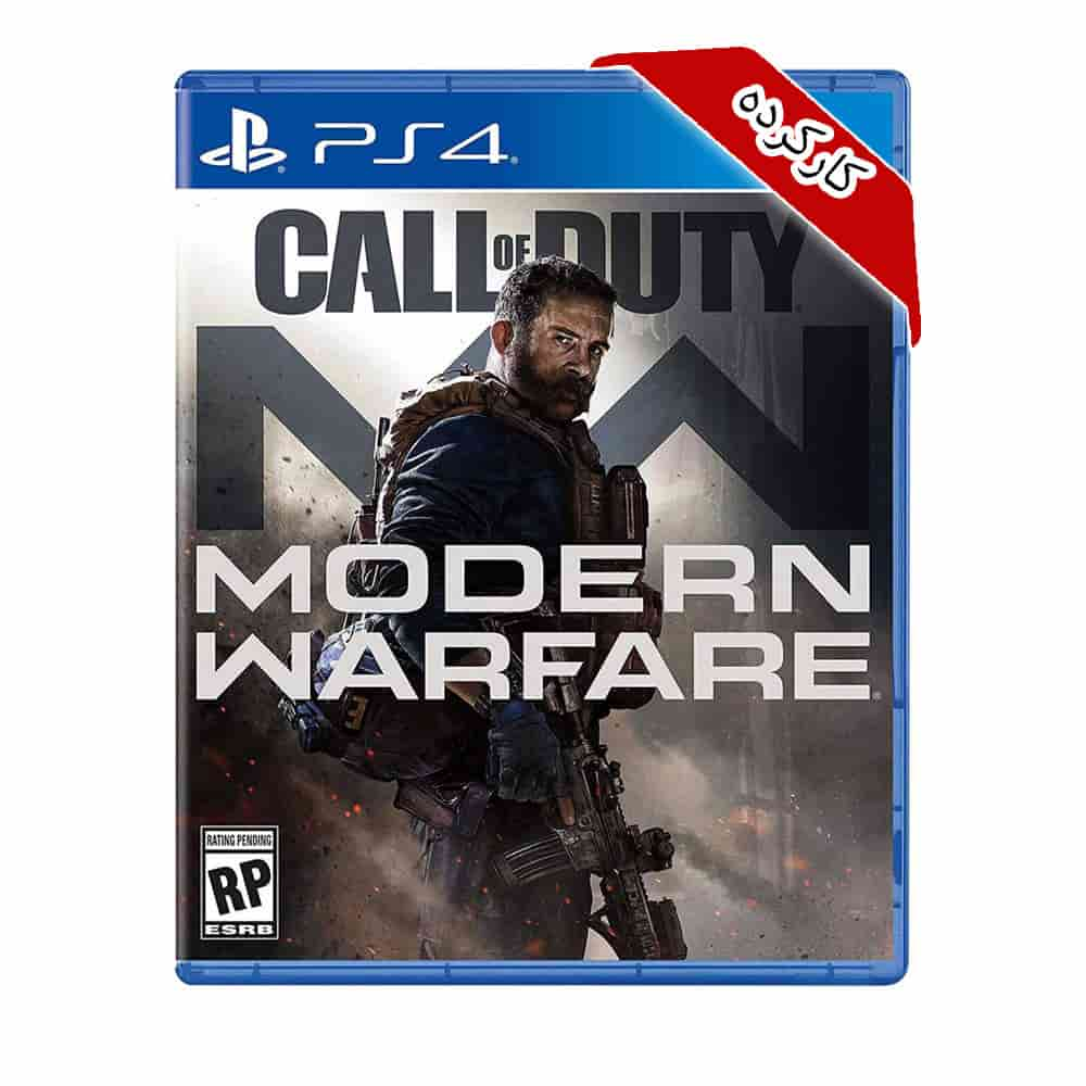 بازی Call Of Duty Modern Warfare کارکرده – PS4