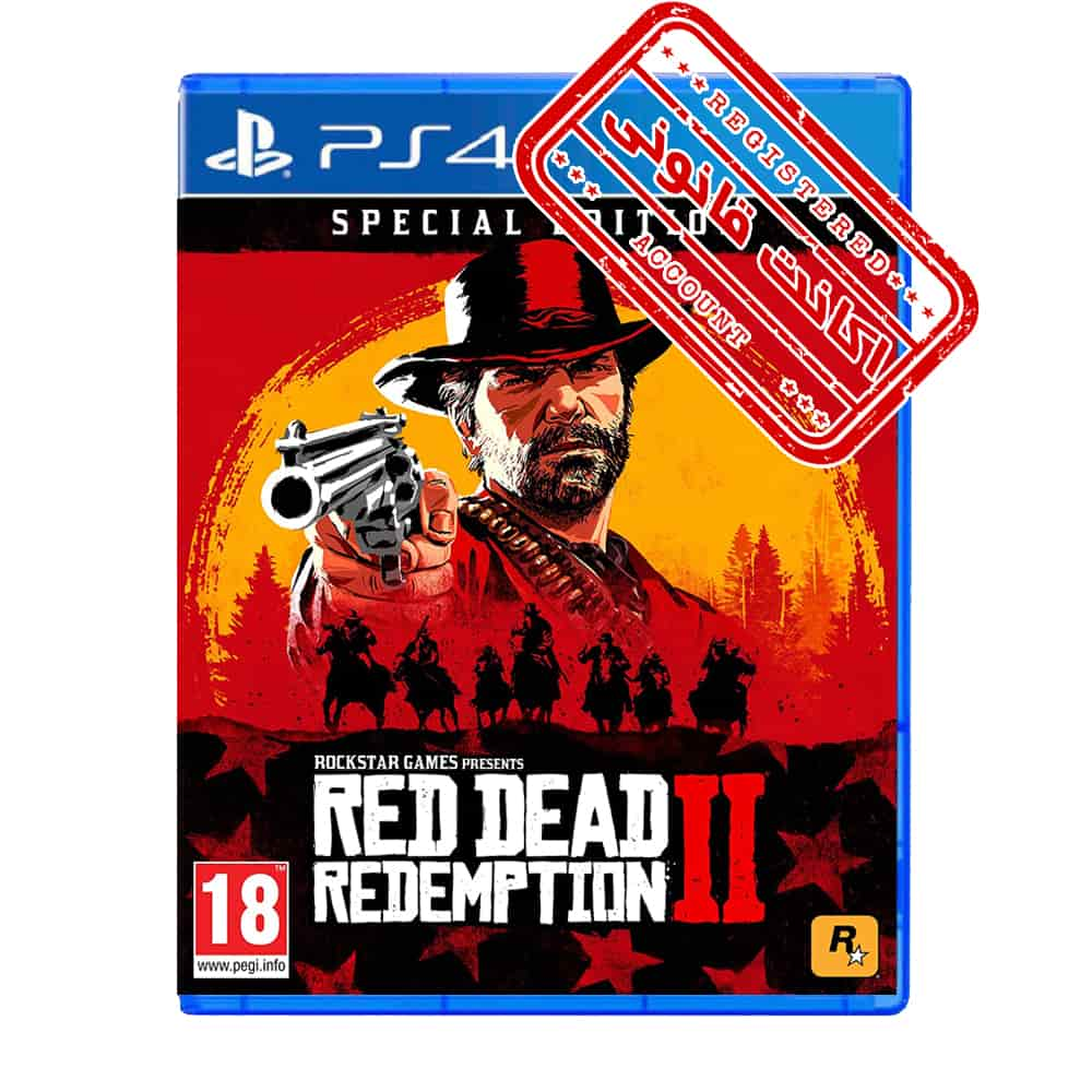 اکانت قانونی بازی Red Dead Redemption 2 Special Edition – PS4