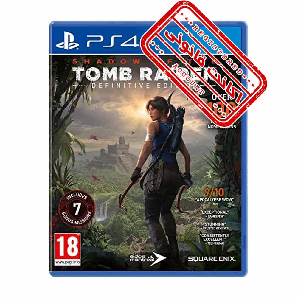 اکانت قانونی بازی Shadow of the Tomb Raider Definitive Edition – PS4